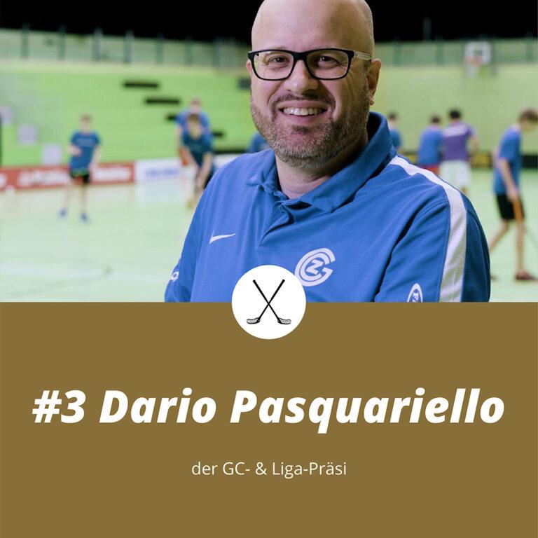 #3 Dario Pasquariello, der GC- & Liga-Präsi