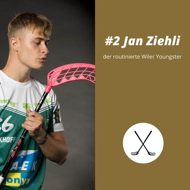 #2 Jan Ziehli, der routinierte Wiler Youngster