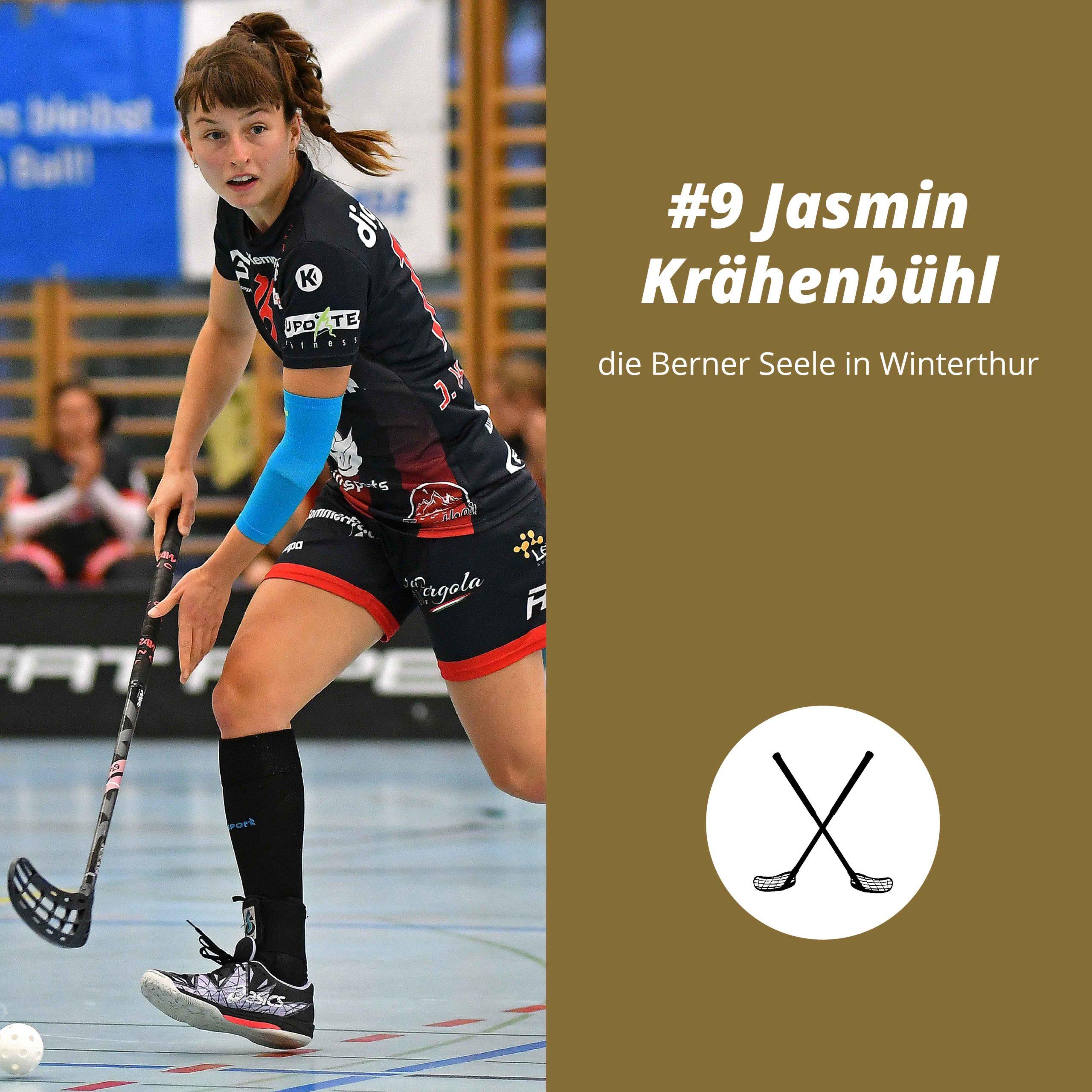 #9 Jasmin Krähenbühl, die Berner Seele in Winterthur