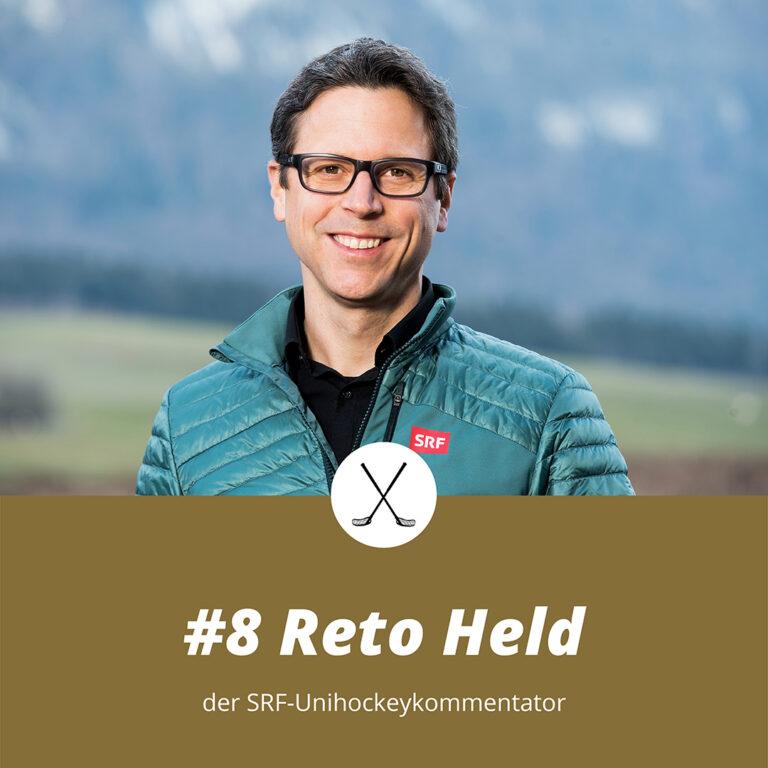 #8 Reto Held, der SRF-Unihockeykommentator